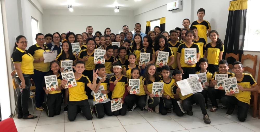 Aplicação do IMN com Voluntários da Alcoa