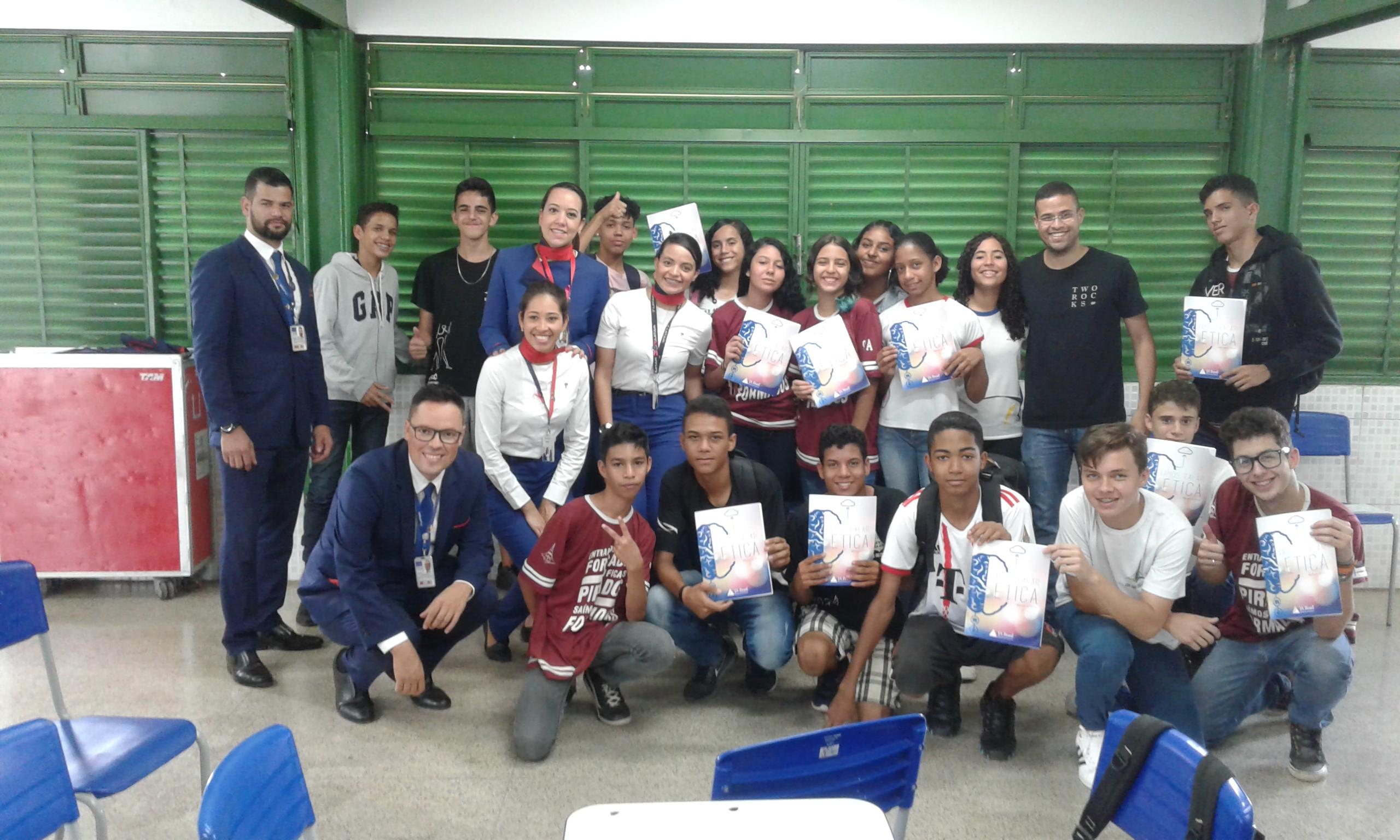 Escola de Samambaia recebe programa de Ética
