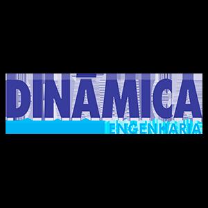 Logotipo Dinâmica Engenharia