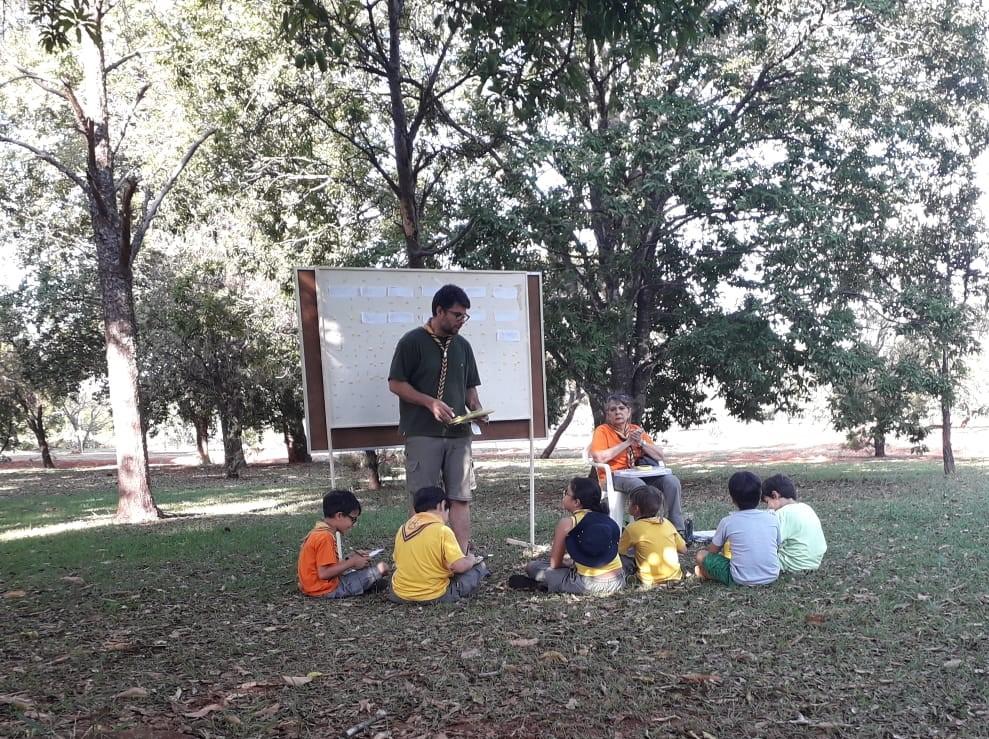 Lobinhos de Grupo Escoteiro falam sobre meio ambiente