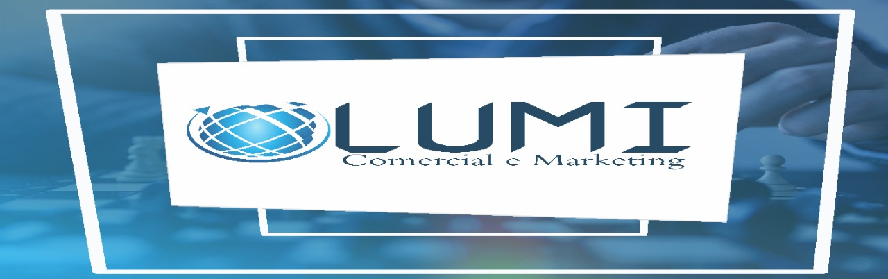 Logotipo LUMI Comercial e Marketing