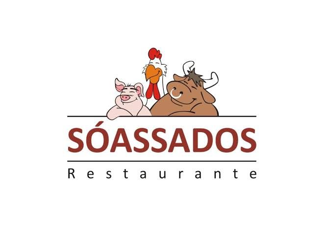 Logotipo Só Assados Restaurante
