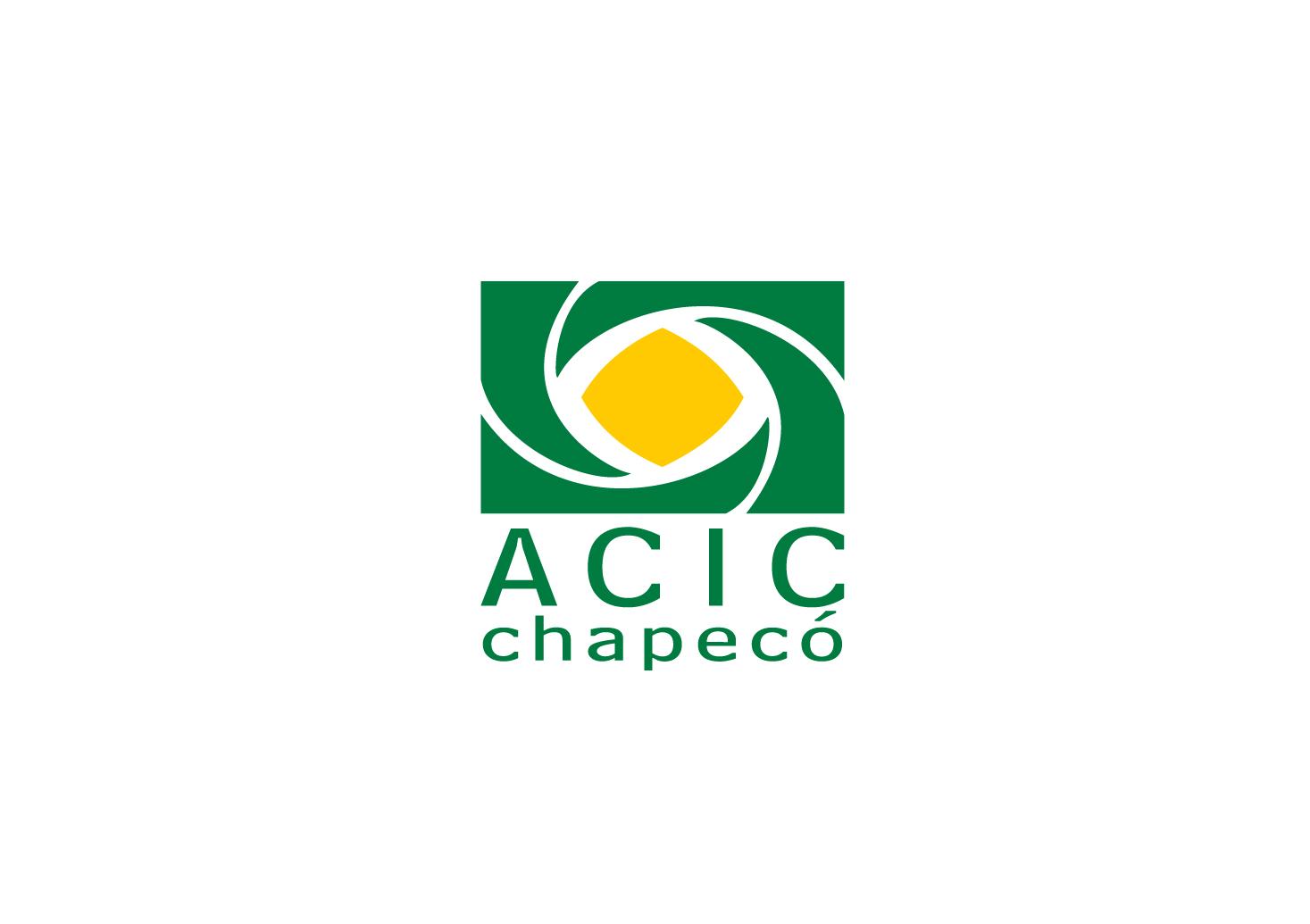 Logotipo AABU ACIC - Associação Comercial e Industrial de Chapecó