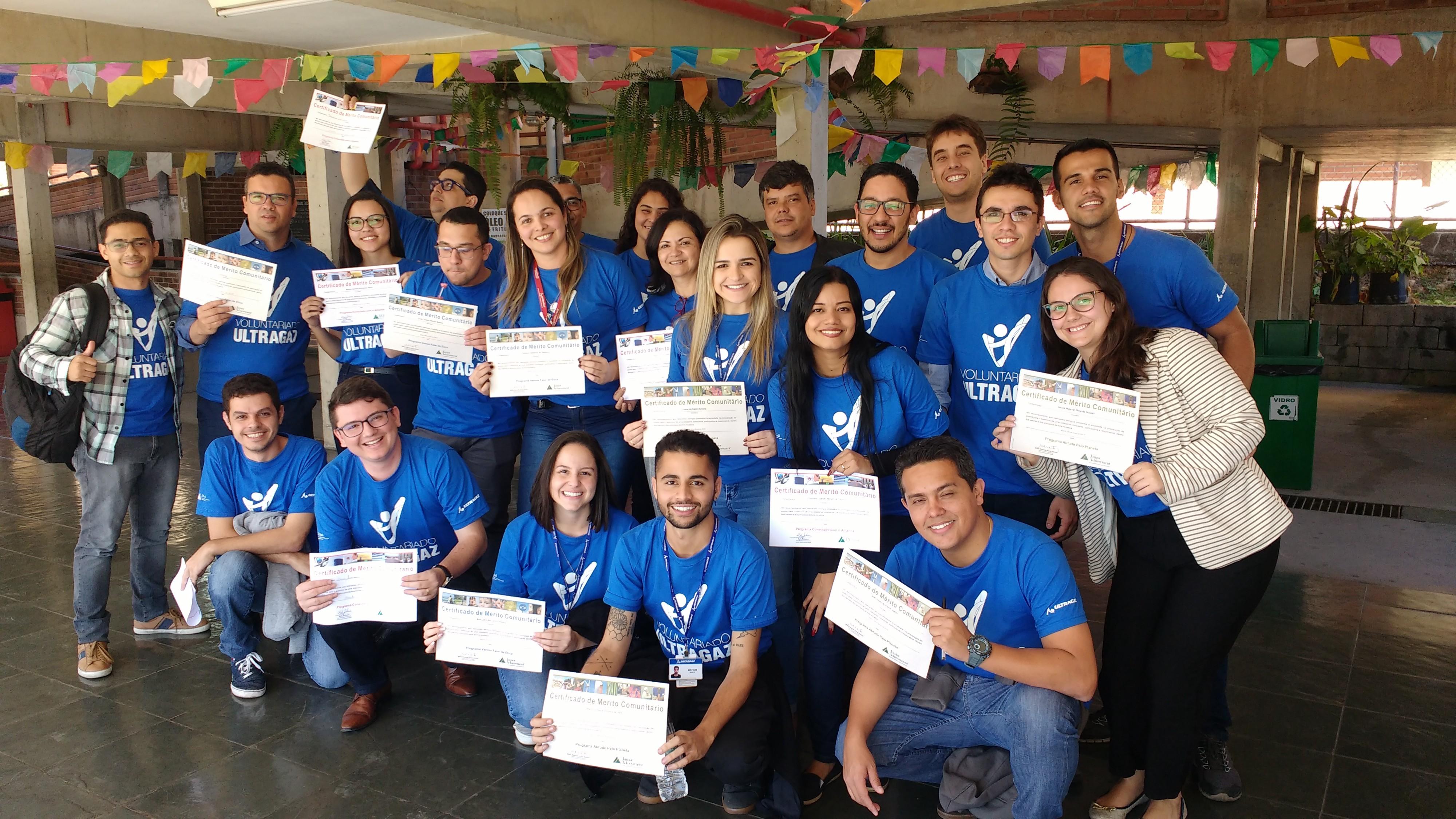 Ultragaz e JA beneficiam 225 alunos em Minas Gerais