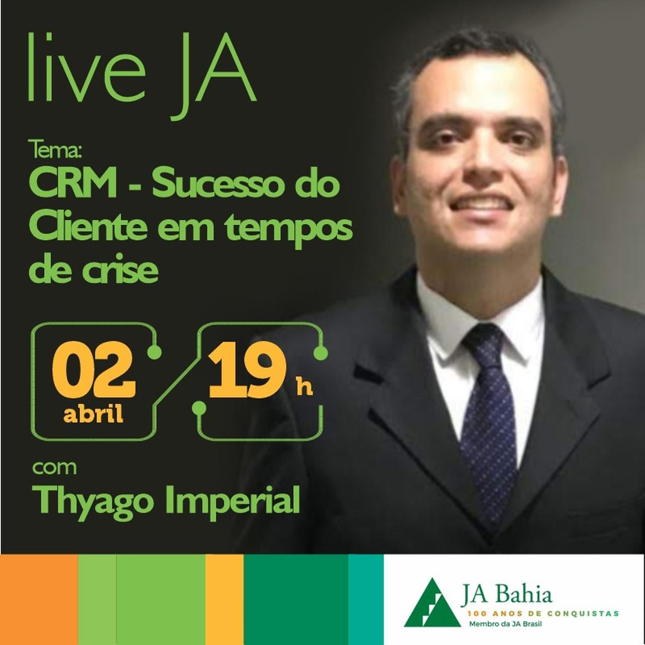 #LIVEJA com Thyago Imperial