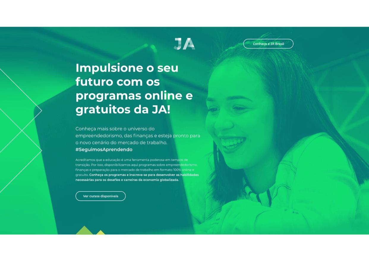Lançamento da plataforma online da JA