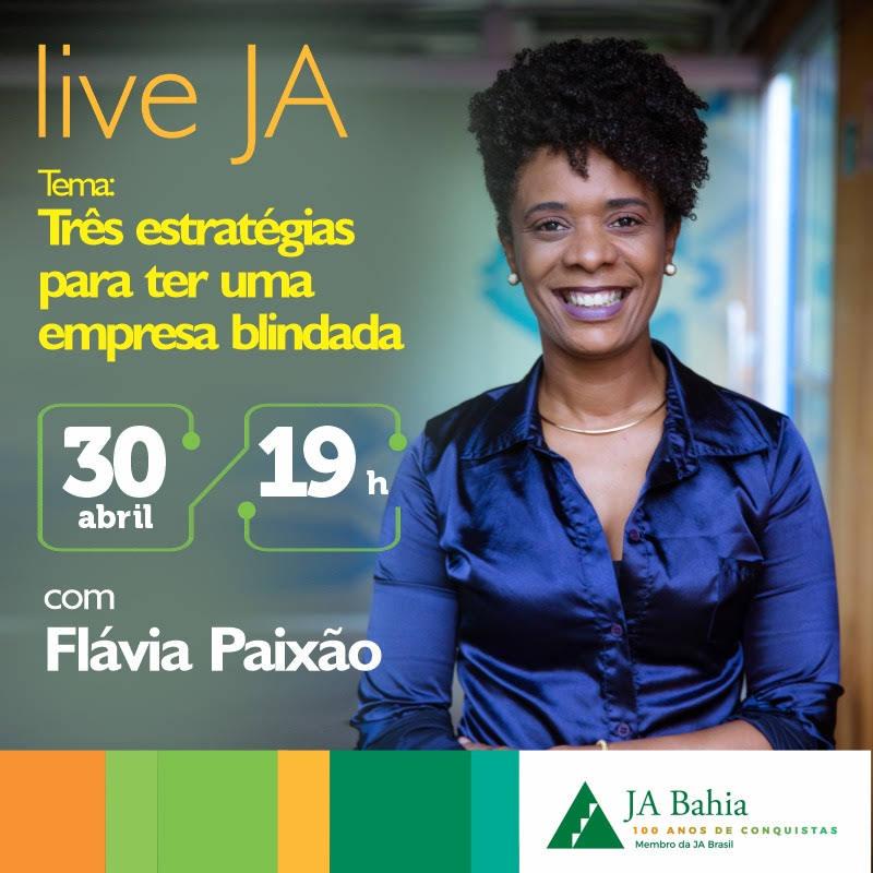 #LIVEJA com Flávia Paixão