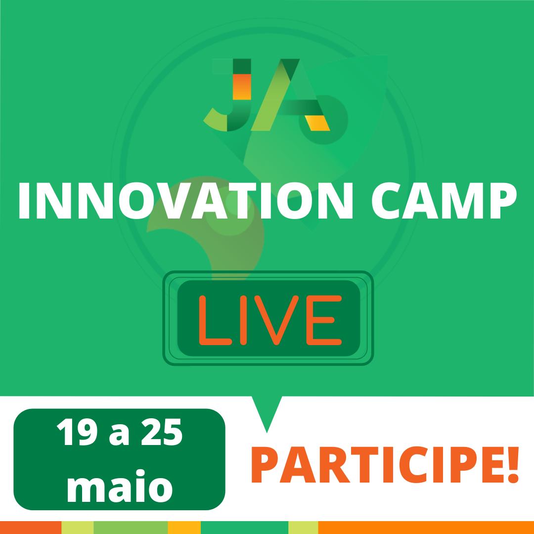 JA Innovation Camp Live: Inscrições abertas