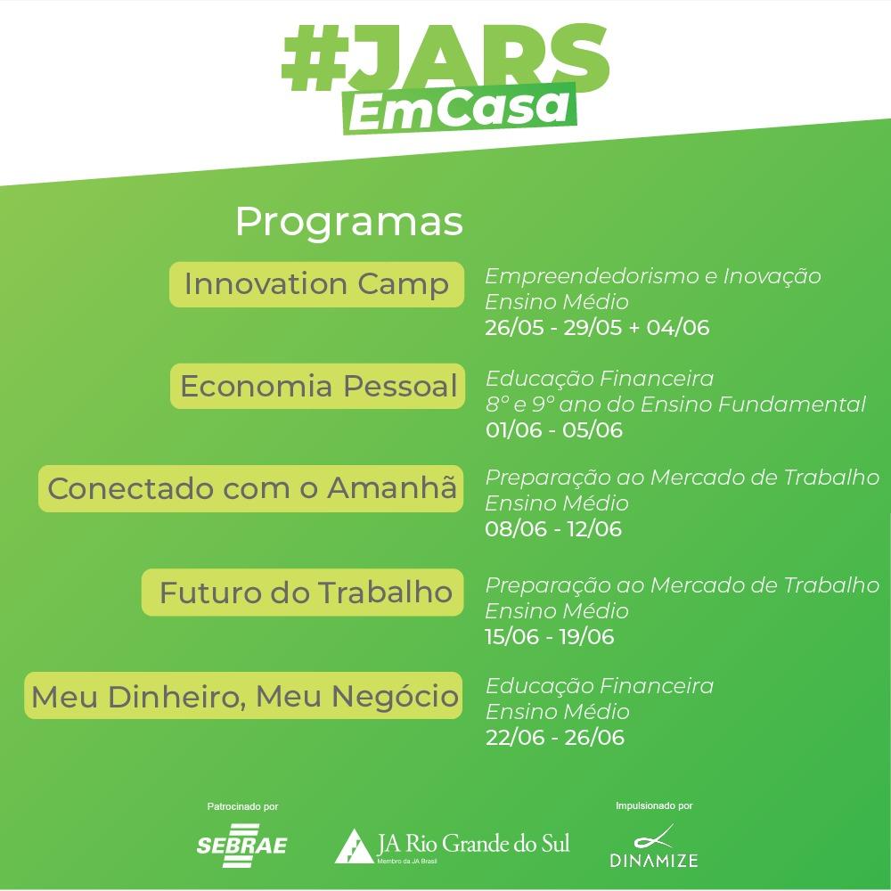 Oportunidades EAD | #JARS Em Casa