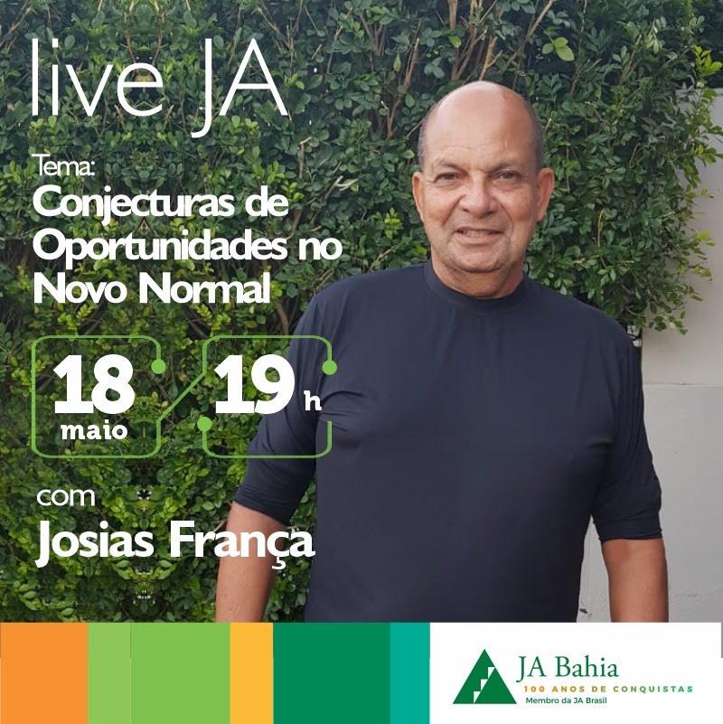 #LIVEJA com Josias França