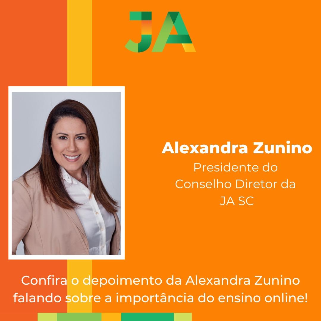A importância do ensino online por Alexandra Zunino