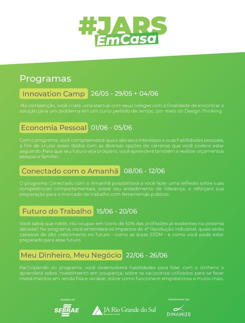 Programas EAD da JA Brasil