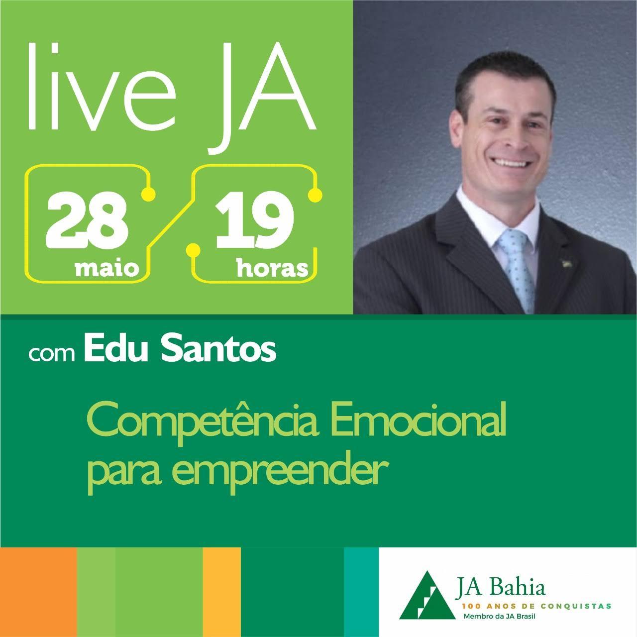 #LIVEJA com Edu Santos