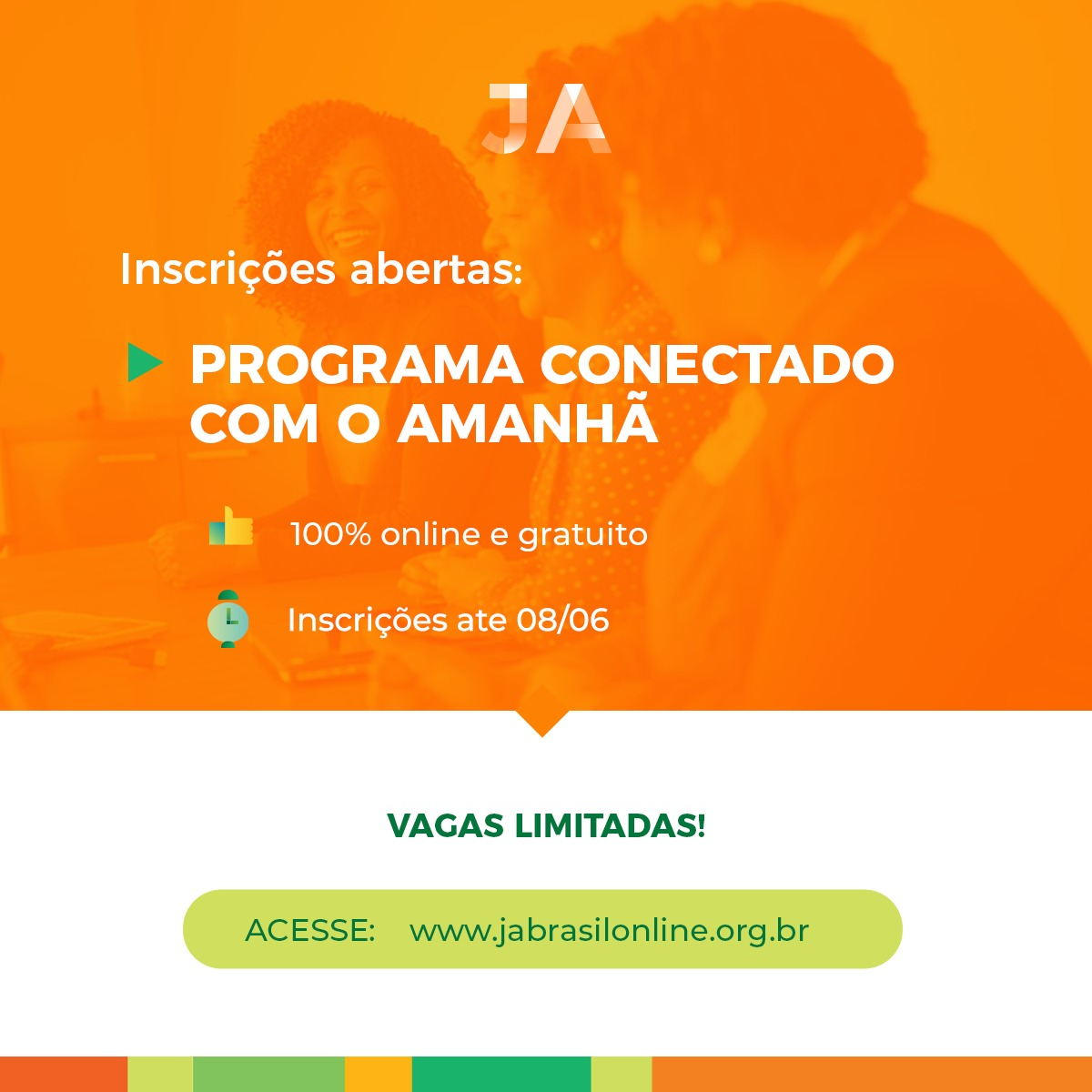Novo programa online - Conectado com o Amanhã