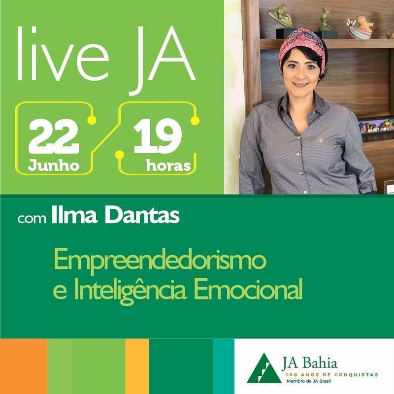 #LIVEJA com Ilma Dantas