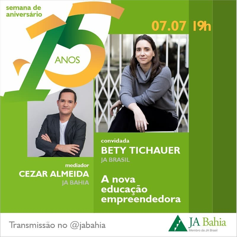 #LIVEJA15ANOS com Bety Tichauer