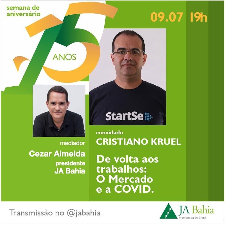 #LIVEJA15ANOS com Cristiano Kruel