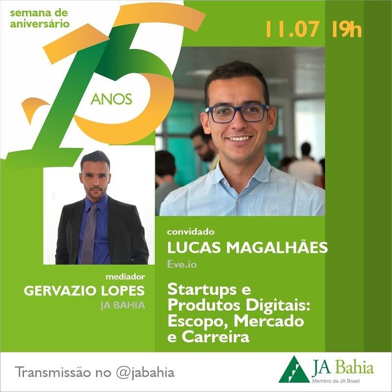#LIVEJA15ANOS com Lucas Magalhães
