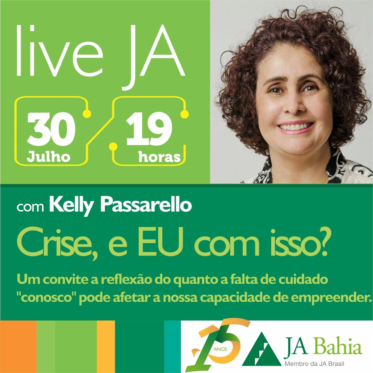 #LIVEJA com Kelly Passarello