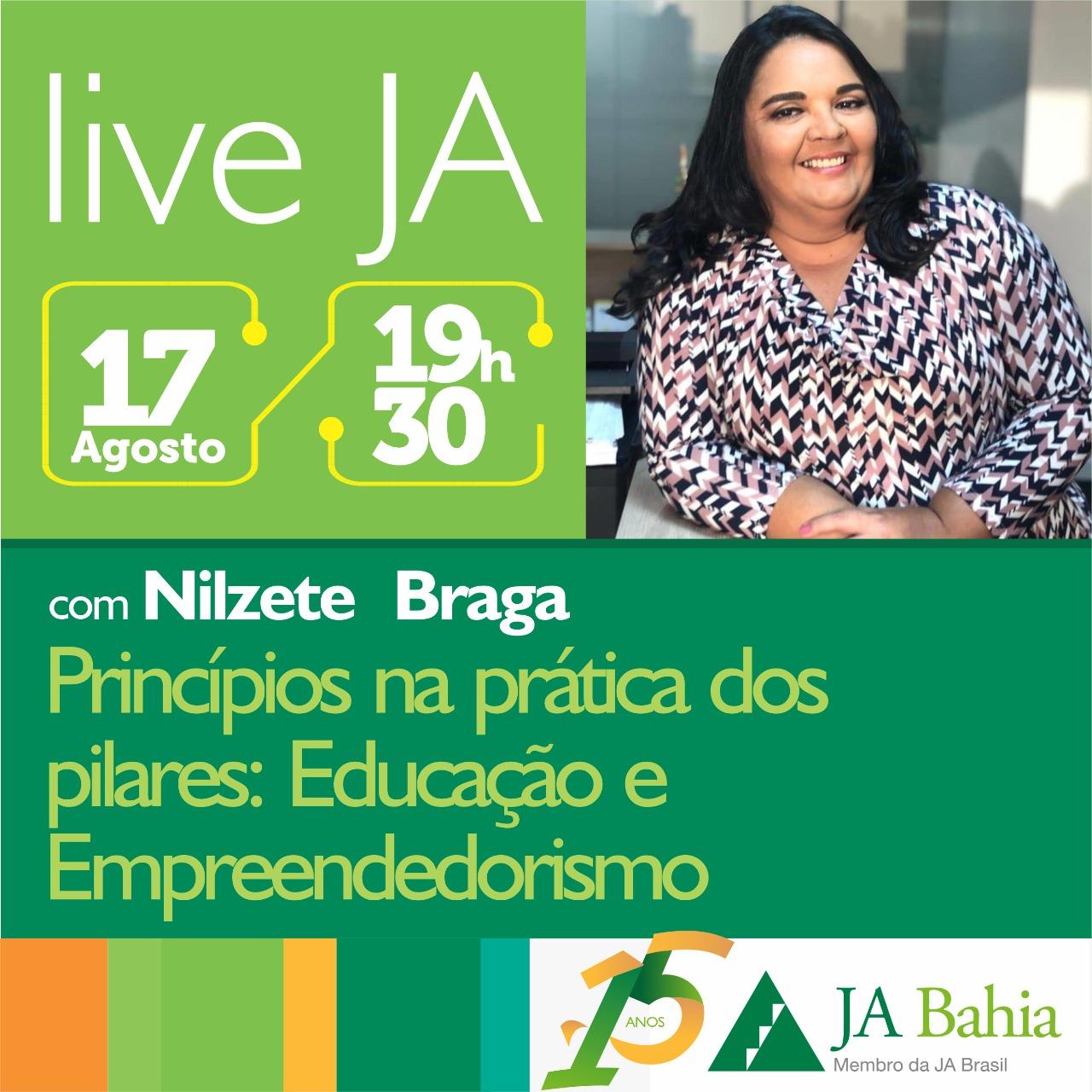 #LIVEJA com Nilzete braga