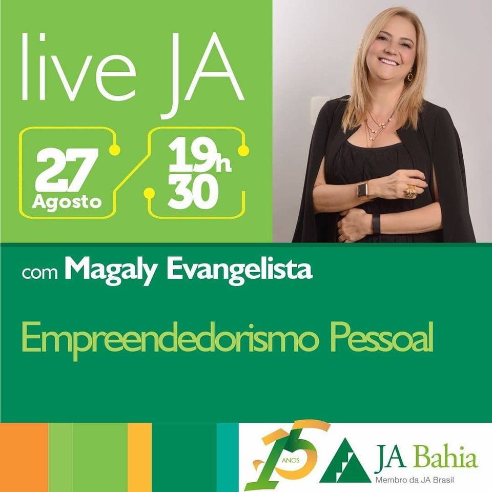 #LIVEJA com Magaly Evangelista