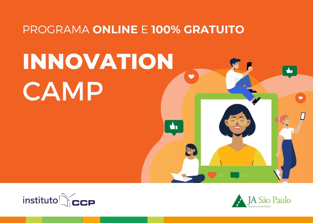 Programa Innovation Camp em parceria com o Instituto CCP e Shop. Cidade São Paulo