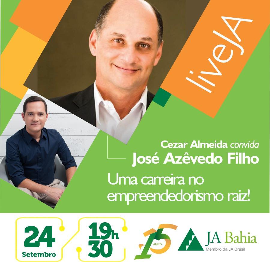 #LIVEJA com José Azêvedo Filho