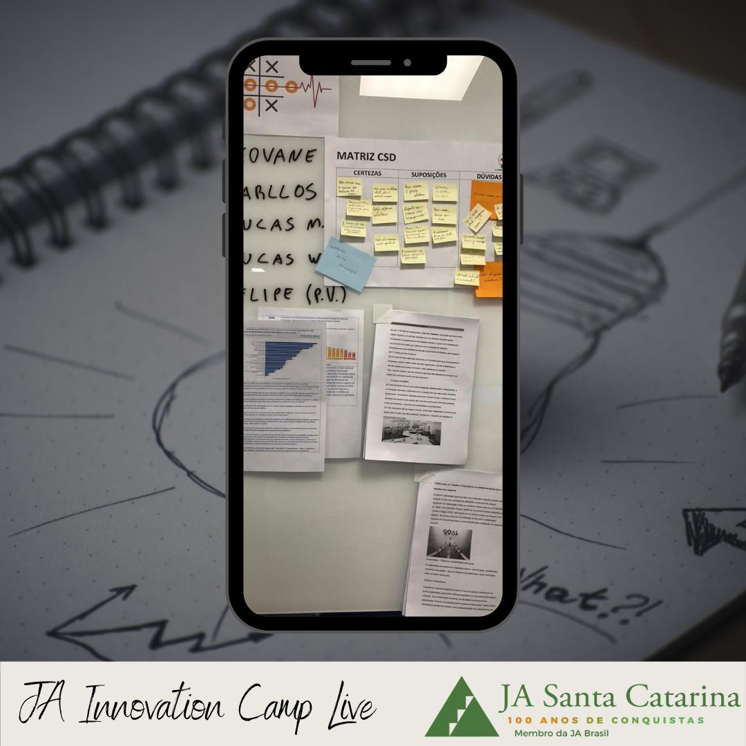 Grupo Lince realiza o Innovation Camp Live com colaboradores