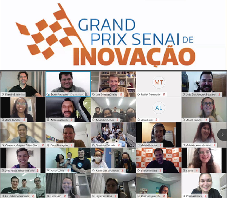 Grand Prix SENAI envolve 52 equipes no Innovation Camp Live