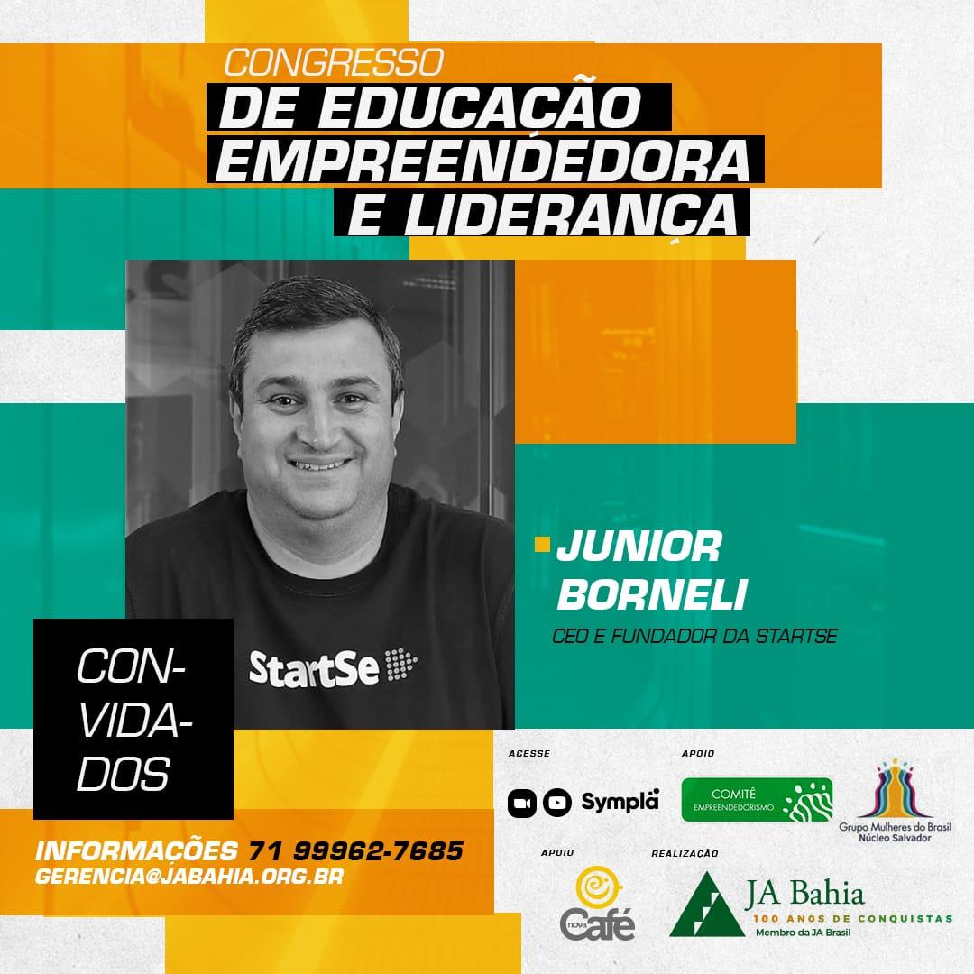 Convidado Junior Borneli