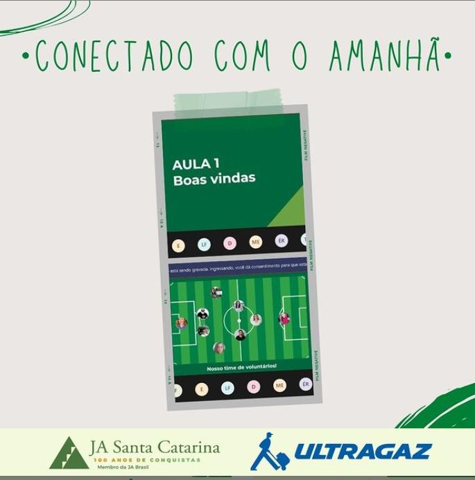 Ultragaz realiza o Programa Conectado com o Amanhã em SC