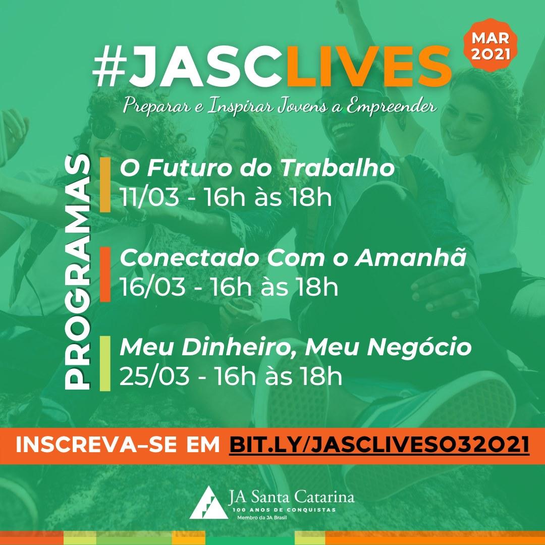 #JASCLives - uma nova forma de aprender!