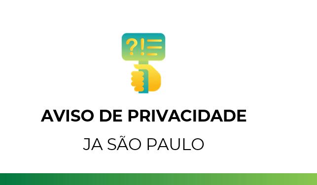 Aviso de privacidade