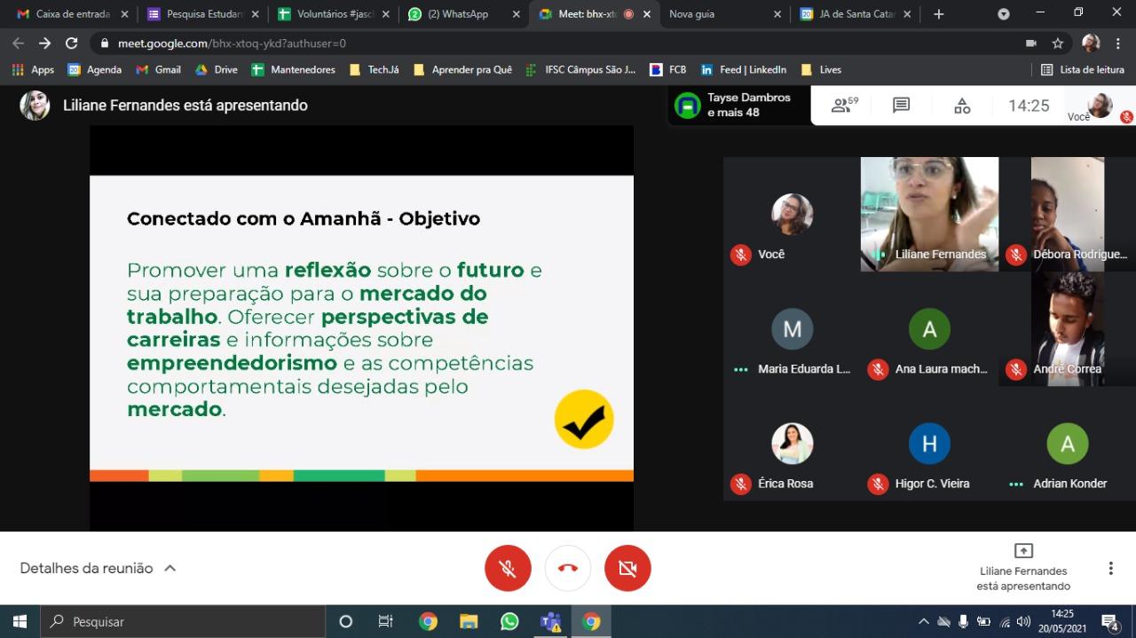 """ORCALI realiza aplicação do programa """"Conectado Com o Amanhã"""""""