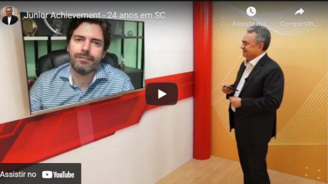JA Santa Catarina participa do programa Estado de Excelência a fim de propagar os 24 da marca em solo Catarinense