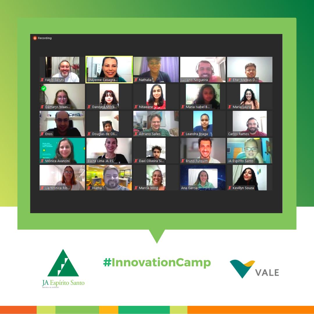 Innovation Camp online em parceria com a Vale