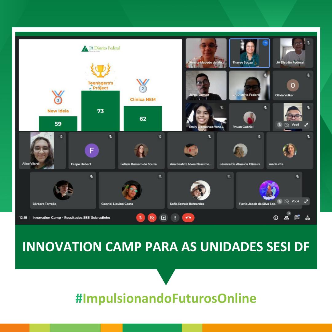 Innovation Camp para as unidades SESI DF