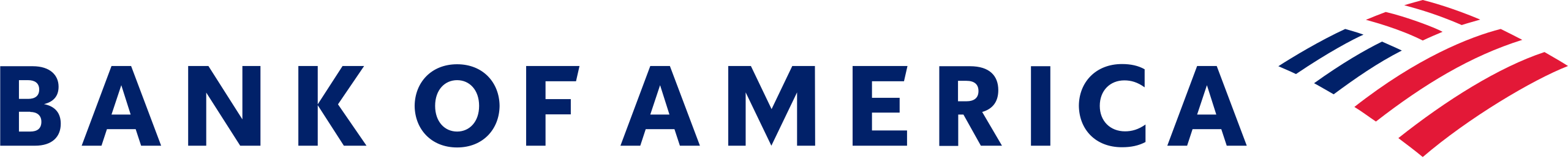 Logotipo Bank Of America