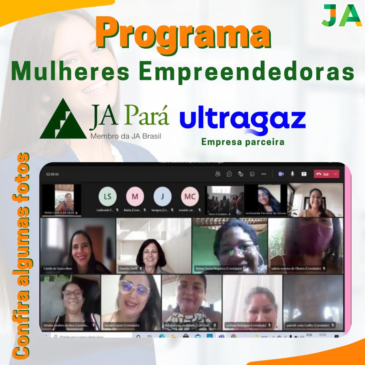 Mulheres empreendedoras em parceria com a Ultragaz estimula o protagonismo feminino por todo o Pará