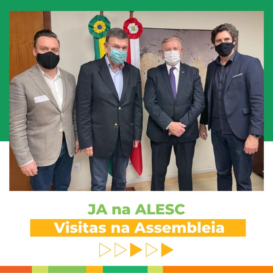 JA visita ALESC